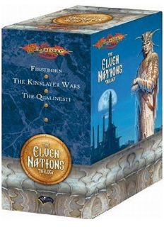 Dragonlance: The Elven Nations Gift Set: Firstborn The Kinslayer Wars The Qualinesti