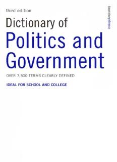 Colin - Dictionary Of Politics And Government.pdf