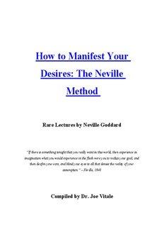 Desires: The Neville - Joe Vitale of The Secret DVD is Law of