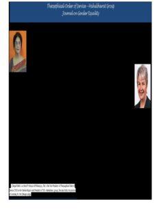 Mahabharat Group Journal on Gender Equality