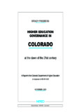 COLORADO - NORED-Northwest Educational Research Center