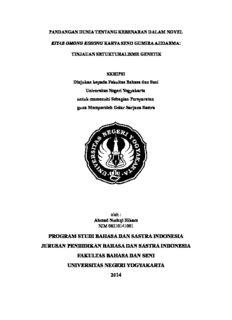 program studi bahasa dan sastra indonesia jurusan pendidikan bahasa dan sastra indonesia ...