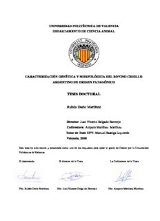 TESIS DOCTORAL Rubén Darío Martínez