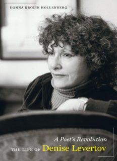 A poet's revolution : the life of Denise Levertov