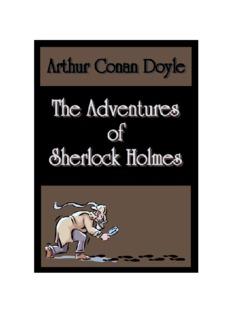 The Adventures of Sherlock Holmes -- Arthur Conan Doyle