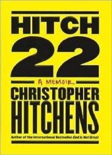 Hitch-22: A Memoir