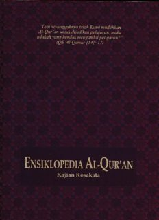 ENSIKLOPEDI AL-QURAN A-J