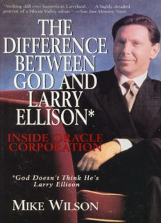 The Difference between God and Larry Ellison (Englisch)