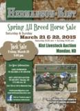 View Hermanson/Kist Horse Sale Catalog Here - Kist Livestock