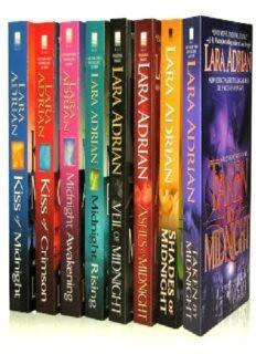 Lara Adrian's Midnight Breed 8-Book Bundle