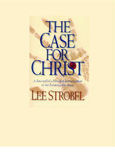 Case for Christ, The - Lee Strobel.pdf