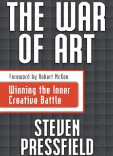 The war of art : winning the inner creative battle