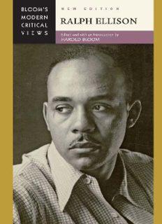 Ralph Ellison (Bloom's Modern Critical Views), New Edition