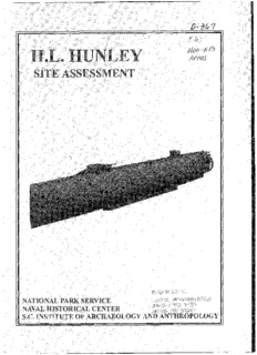 H.L. Hunley: Site Assessment