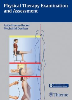 Physical Therapy Examination and Assessment - Thieme
