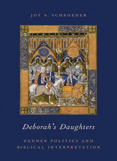 Deborah's daughters : gender politics and biblical interpretation