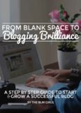 From Blank Space to Blogging Brilliance: A Step By Step Guide to Start and Grow Your Blog