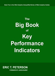 The Big Book of Key Performance Indicators, by Eric T. Peterson