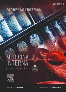 Farreras-Rozman. Medicina Interna. 2 Vols.