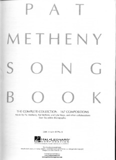 Pat Metheny song book.pdf