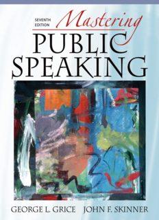 Mastering public speaking = 公共演讲的艺术 /Mastering public speaking = Gong gong yan jiang de yi shu