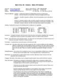 Inferential Statistics and Hypothesis Testing