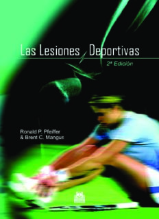 Las  Lesiones Deportivas  Sport´s Injuries (Spanish Edition)
