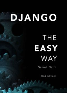Django - The Easy Way: A step-by-step guide on building Django websites, 2nd Edition