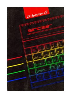 Introduction Sinclair ZX Spectrum +2A 128K Integrated Microcomputer