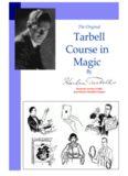 The Original Course in Magic of Harlan Tarbell