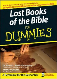 Lost Books of the Bible For Dummies (For Dummies (Religion & Spirituality))