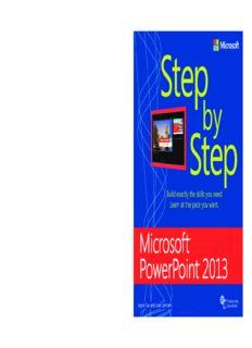 Microsoft PowerPoint 2013 Step by Step ebook