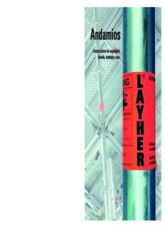 Libro Andamios Layher