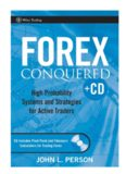 John L. Person : Forex Conquered™ √PDF √eBook Download