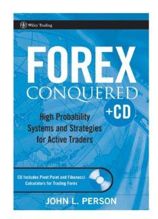 John L. Person : Forex Conquered™ √PDF √eBook Download
