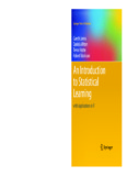 Introduction to Statistical Learning: with Applications in R - Usc