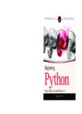 Beginning Python by James Payne - Ape Panthiya