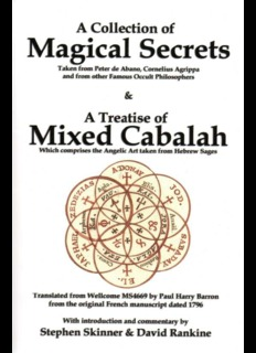Stephen Skinner and David Rankine - A Collection Of Magical Secrets.pdf