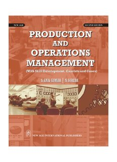 Production and Operations Management : With Skill Development