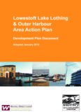 Lowestoft Lake Lothing & Outer Harbour Area Action Plan