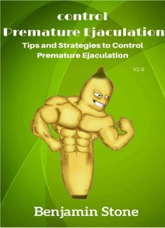 Control Premature Ejaculation: Tips and Strategies to Control Premature Ejaculation