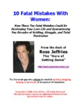 10 Fatal Mistakes With Women - Ross Jeffries