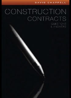 Construction Contracts, Questions and Answers