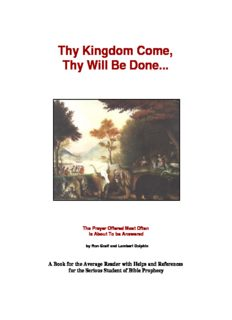 Free End Times Book (pdf) - Rapture Notes