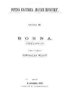 Vjekoslav Klaić BOSNA ©MH 2010.