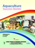 Aquaculture Success Stories CENTRAL INSTITUTE OF FRESHWATER AQUACULTURE