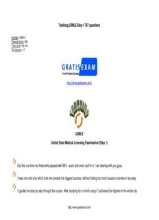 Testking.USMLE-Step-1 787 questions USMLE United State Medical Licensing Examination