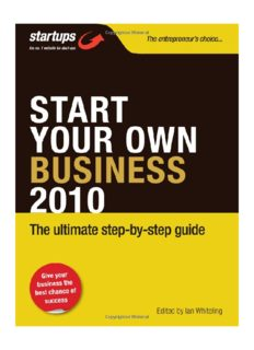 Start Your Own Business 2010: How to Plan, Fund and Run a Successful Business (Startups)