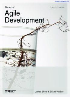 The Art of Agile Development: Pragmatic guide to agile software development