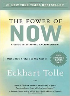The Power of Now - Echart Tolle